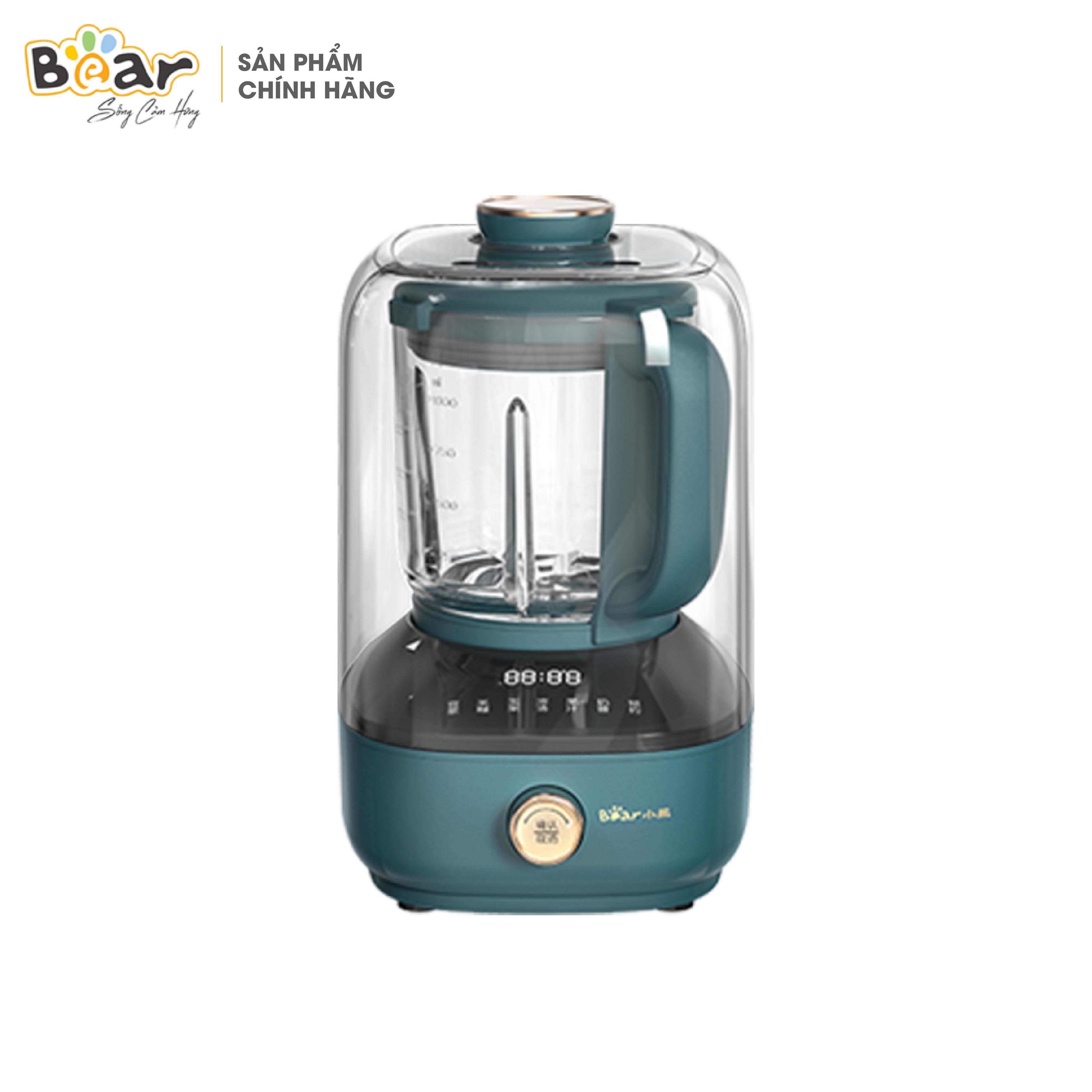 Máy xay nấu đa năng cách âm Bear PBJ-B06W1
